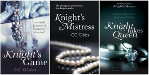 Knight Trilogy Covers